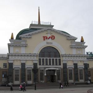 Железнодорожные вокзалы Омонска